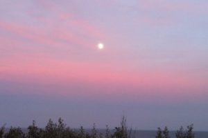 dawn and full moon 5